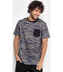 camiseta mcd especial full camouflage masculina