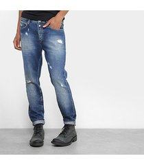 calça jeans skinny replay vintage masculina