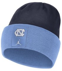 jordan north carolina tar heels sideline fleece beanie knit