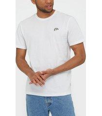 only & sons onskobi reg ss tee t-shirts & linnen vit