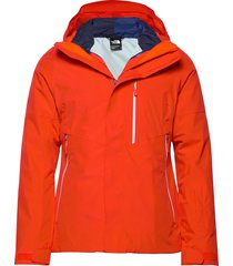 w garner triclimate jacket cloud bl outerwear sport jackets orange the north face
