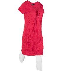 tunica lunga effetto stropicciato + leggings 3/4 (set 2 pezzi) (rosso) - bpc bonprix collection