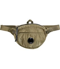 c.p. company nylon satin waist bag |olive| 198a-5269g 661