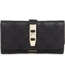 guess peony classic multi clutch wallet