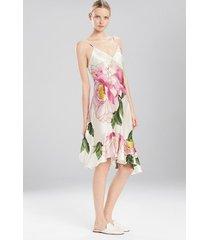 clair de lune chemise sleepwear pajamas & loungewear, women's, 100% silk, size xl, josie natori