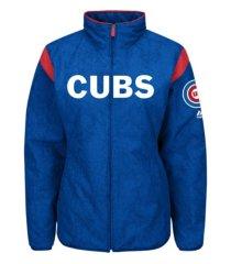 majestic chicago cubs women's authentic premier jacket