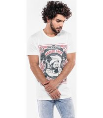 t-shirt hermoso compadre casual bege