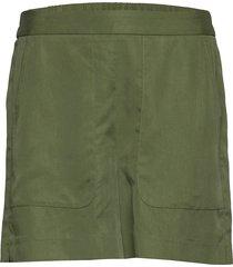 high-rise 4 tencel™ pull-on short shorts flowy shorts/casual shorts grön banana republic