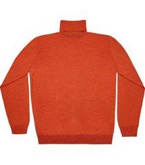 maglione da uomo, lanieri, extra fine mattone, quattro stagioni | lanieri