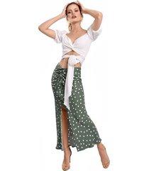 falda primia trevi verde