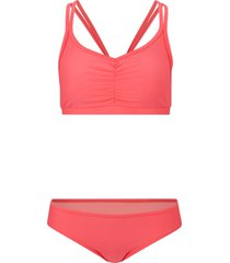 bikini a bustier (set 2 pezzi) (arancione) - bpc bonprix collection
