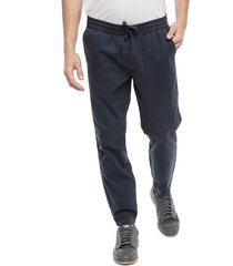 pantalón d/struct jogger azul - calce regular