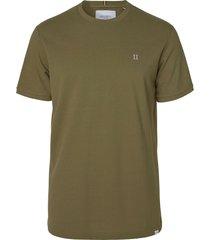 les deux pique t-shirt olive
