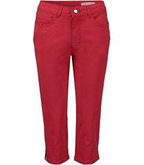 broek capri lisa zamora rood