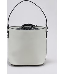 bolsa saco feminina com alça removível off white
