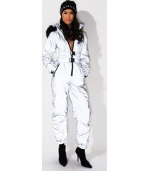 akira feel so loved reflective jumpsuit