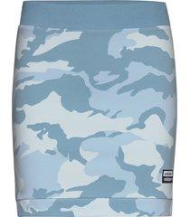 skirt knälång kjol blå adidas originals