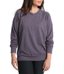 women's bun maternity relaxed daily maternity/nursing sweatshirt