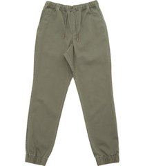 pantalon jogger hombre verde maui and sons