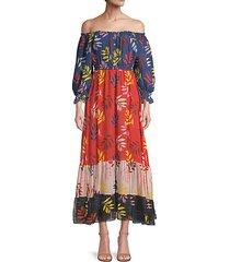 alexa off-the-shoulder dress