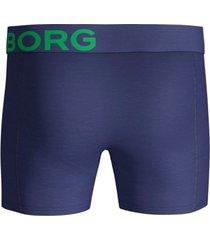 bjorn borg boxers 2-pak solid monaco blue