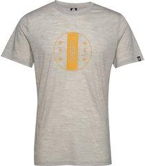 bula merino wool tee t-shirts short-sleeved grå bula