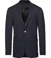 stretch heavy twill blazer blazer kavaj blå junk de luxe
