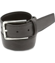 calvin klein men's feather edge strap leather belt