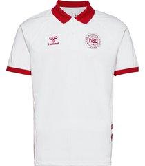 dbu fan 2020 polo t-shirts football shirts vit hummel