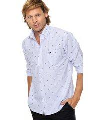 camisa celeste scotfield nueva york c3 modelo clásico