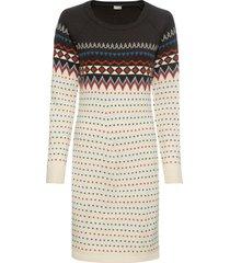 abito in maglia norvegese (bianco) - bodyflirt boutique