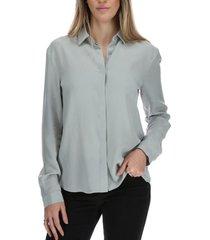 blusa manga larga mujer belisa gris rockford