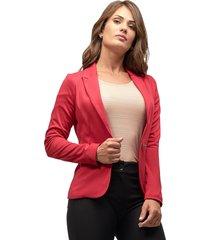 blazer malha mx fashion pandora vermelho