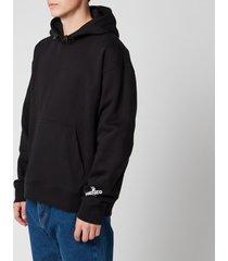 kenzo men's sport big x hoodie - black - xl