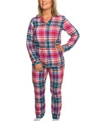 trofe flannel pyjama long sleeve