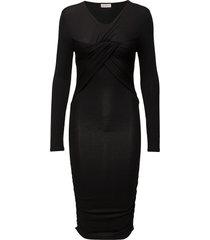fantastique dress knälång klänning svart stine goya
