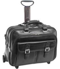 mcklein siamod ceresola checkpoint-friendly detachable -wheeled laptop briefcase