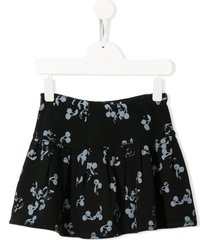 bonpoint cherry print short skirt - blue