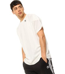 remera natural adidas originals monogram tee