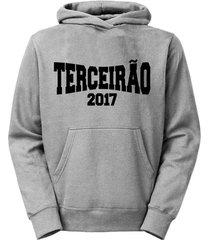 moletom criativa urbana canguru casaco terceirão 2017