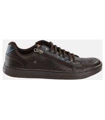 sapatênis ped shoes basic marrom