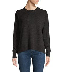 vince women's wool & cashmere sweater - heather periwinkle - size xs