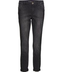 crop trousers jeans raka jeans grå taifun