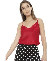 blusa eclipse esme rojo - calce regular