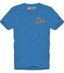 bluette st. barth back print man t-shirt