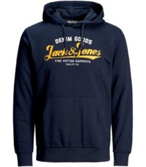 jack & jones men's sweatshirt hoodie with adjustable strings