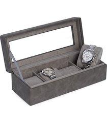 four watch storage case