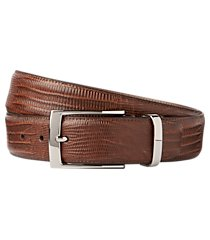jos. a. bank lizard embossed belt - long clearance