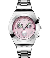 reloj mujer lb 8399 - rosa