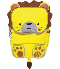 mochila infantil toddlepak trunki - leão leeroy - cor amarelo